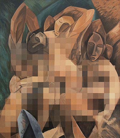 Censored%20Three%20Women%20by%20Picasso,%202013.jpg