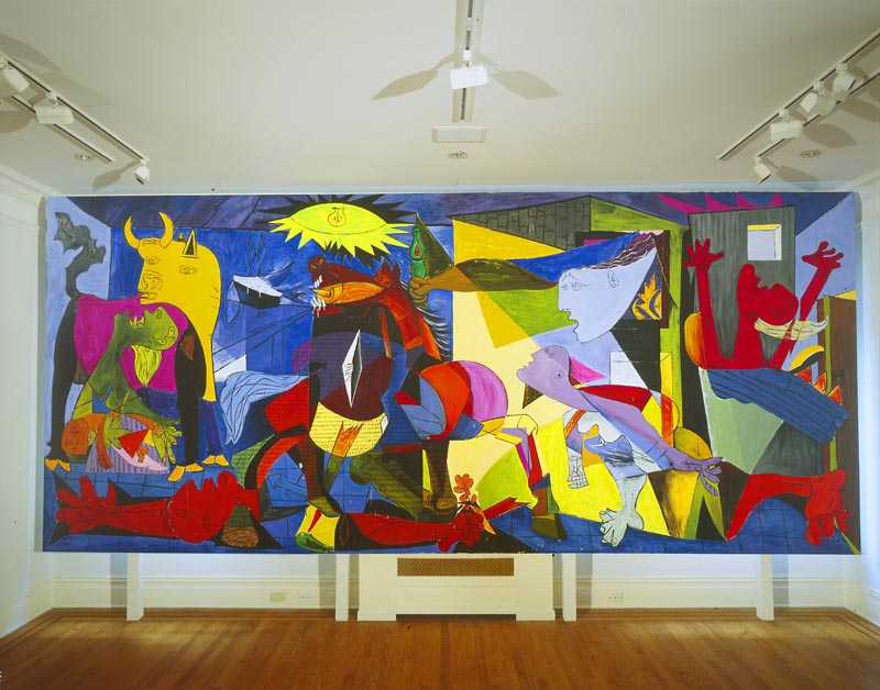 Guernica Painting In Color